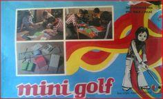 Minigolf - stolní hra