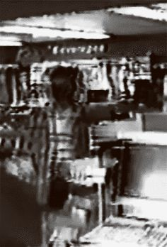 Eric Harris at the morning of april 20 1999, shopping at a gas station