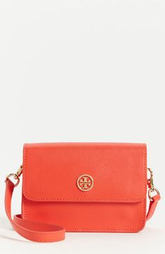 Tory Burch Robinson - Mini Leather Crossbody Bag available at #Nordstrom