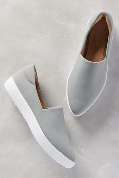 60015a0e7e Dibbie Slip-On Sneakers - anthropologie.com Gray Sneakers Outfit