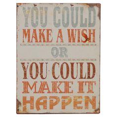 make it happen....