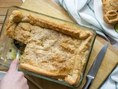 Ленивый пирог с куриной подливой : Выпечка : Кулинария : Subscribe.Ru
