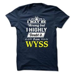 Nice It's an WYSS thing, you wouldn't understand! Check more at http://hoodies-tshirts.com/all/its-an-wyss-thing-you-wouldnt-understand.html