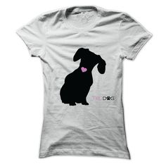 I Love My © Dachshund A shirt for those who know their Dachshund has the heart of a champion.pet, dog, dachshund