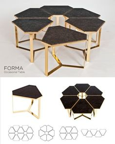Top 9 Choices in Modern Coffee Tables - Life ideas Marble Furniture, Rustic Wood Furniture, Custom Made Furniture, Modular Furniture, Steel Furniture, Furniture Making, Luxury Furniture, Diy Furniture, Plywood Furniture