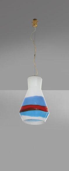 STILNOVO Una lampada a sospensione, anni '60. : Lot 3064