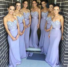 Long Bridesmaid Dress,Mermaid Bridesmaid Dress,Pretty Bridesmaid Dress,Charming Bridesmaid dress ,PD225