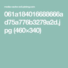 061a184016688666ad75a776b3279a2d.jpg (460×340)