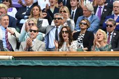 The Duchess could not hold in her emotions as she applauded Andy during the final on Centre Court