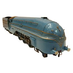 Art Deco Streamlined Locomotive Coronation Scot Live Steam  England UK  c. 1937