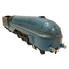 Art Deco Streamlined Locomotive Coronation Scot Live Steam  England UK  c. 1937