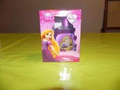 """Ref CDP024B Parfum """"Disney"""" princesse aux cheveux blonds. 7€"""