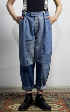 Cobalto Trousers Medium Blue | Fade Out Label | NOT JUST A LABEL
