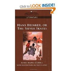Hans Brinker was probably my alltime favorite book to read to my older children..... Glorious.