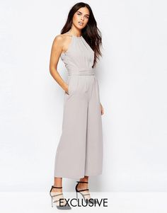 Warehouse | Warehouse Sash Detail Jumpsuit at ASOS