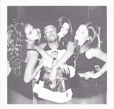 Selena, Alfredo, Kendall and Kylie