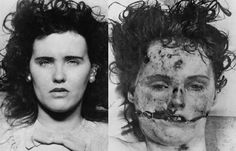 July 29 / Today : In 1924, Elizabeth Short was born. She was brutally murdered & mutilated and was famously nicknamed The Black Dahlia. Her murder became one of the most famous unsolved cases in United States history. Happy Birthday Elizabeth. RIP Girl.