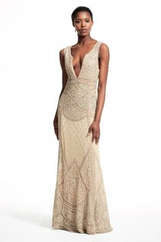 Orlyn Hand Embellished Gown - Calypso St. Barth