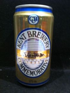 KENT BREWERY COMMEMORATIVE BEER CAN