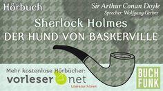 Sherlock Holmes: Der Hund von Baskerville (Hörbuch) Conan, Sherlock Holmes, Hund Von Baskerville, Letters, Youtube, Dancing, Literature, Ears, Children