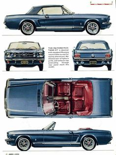 You may not be able to realize a dream of having a fleet of fully restored vintage cars, but you can be able to have the next best thing, a collection of vintage car models. Ford Mustang 1964, 65 Mustang, Ford Mustang Convertible, Mustang Fastback, Car Ford, Ford Gt, Ford Mustangs, Classic Mustang, Ford Classic Cars