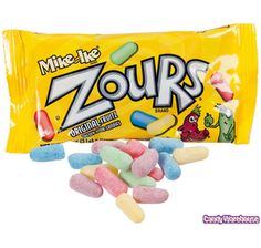 Zours Candy 1.8-Ounce Packs: 24-Piece Box