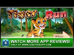 Baby Tiger Run - Kids Apps - iPhone Runner Game #android #iphone #iusethisapp