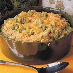 GRANDMA'S SLOW COOKER RECIPES: SLOW COOKER BROCCOLI CASSEROLE