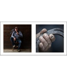 Farriers 5 - Livin'Art by Nicola Ughi   Diptych cm 40x40 Finished paintings cm 50x100     Maniscalchi (Farriers)  is a unique photography project that stems from the desire to give voice and visibility to a trade that is – as we sometimes say – an art. Nicola Ughi unites a strong documentary motivation with a spontaneous aesthetic research. #maniscalchi #farriers