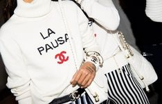 Graphic Chanel Sweater