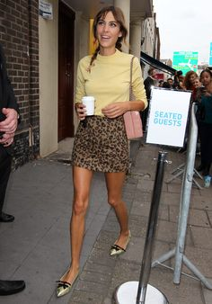 Alexa Chung's fashion week wardrobe diary - Telegraph
