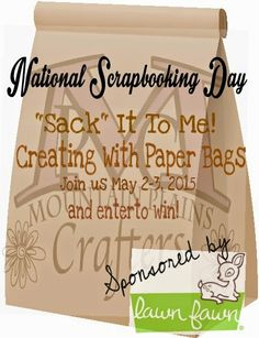 Join us to celebrate #NSD2015 National Scrapbook Day sponsored by #LawnFawn #prize #trivia