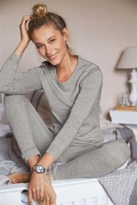 Grey True Therm  Midweight Leggings