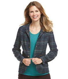 #LLBean: Stonington Jacket, Plaid