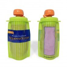 Squeez'Ems - 2 pack Reusable Food Pouch
