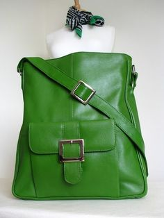 a2672c5b40 Green leather bag Leather Store