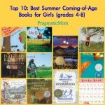 Top 10: Best Summer Coming-of-Age Books for Girls (grades 4-8) :: PragmaticMom