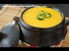 Ethiopian carrot and coriander soup shorba video in Amharic and Englishhttp://www.howtocookgreatethiopian.com