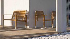 Mobilier d'extérieur pour jardins et terrasses d'hôtels et résidences de luxe Gardens, Luxury Homes, Terraces, Lineup