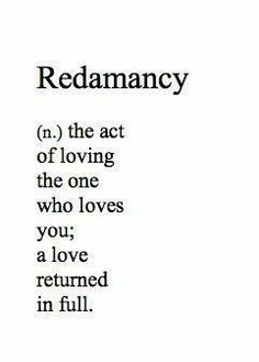 "Redamancy: ""redamancy is distinguished from most of the other words about love in that it is one of the few that specifies reciprocity."" words Word of the Day: Redamancy - Hugo House Unusual Words, Unique Words, Cool Words, Interesting Words, The Words, Words About Love, Words That Mean Love, Other Words For Things, Art About Love"