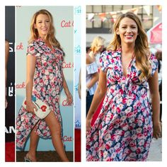 Is Blake Lively the cutest maternity wear muse ever?