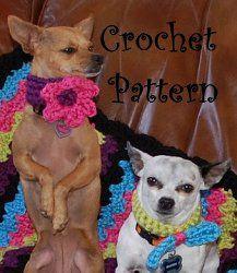 Chunky Dog Collars   AllFreeCrochet.com