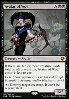Avatar da Mágoa / Avatar of Woe | Busca de Cards | Ligamagic