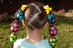 Easter hair. . . crazy hair day?