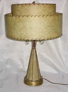 Mid Century Modernism Table Lamp Atomic | eBay