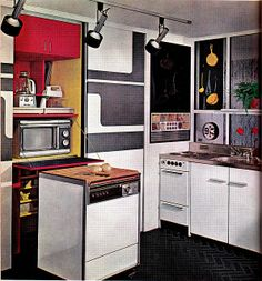 Better Home and Gardens KItchen Planning & Decorating   1972