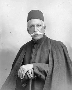 Mohammad Ghaffari, better known as Kamal-ol-Molk, born in Kashan in 1848, to a family with a strong artistic tradition, tracing their origins back to notable painters during the reign of Nader Shah- Foto by Antoin Sevruguin's historical Iran photographs
