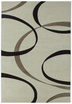 Florida 720 Green Teppich Carpet Modern Grau Beige Braun Weiss ... Grau Weiss Beige
