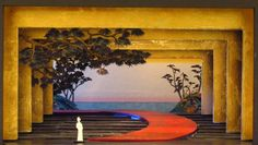 Madama Butterfly at HGO. This set design was perfect. It even revolves!