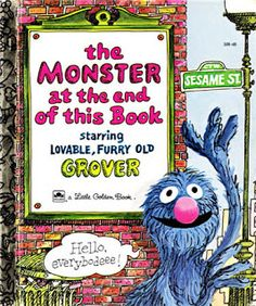 Teaching with The Monster at the End of This Book. Includes questions, activities, vocabulary and many extras. Great for preschool, kindergarten, or 1st grade.